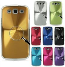 Disco duro de metal de aluminio caso cubierta trasera para Samsung Galaxy S3 SIII i9300 Reino Unido