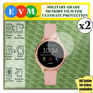 Screen Protector For Fossil Gen 5E Smartwatch 42mm x2 TPU FILM Hydrogel COVER