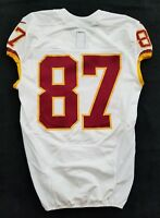 #87 No Name of Washington Redskins NFL Locker Room Game Issued Jersey