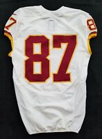 #87 No Name of Washington Redskins NFL Locker Room Game Issued Jersey