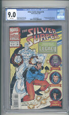 """SILVER  SURFER  ANNUAL #6  CGC 9.0  """"1ST APPEARANCE OF LEGACY (GENIS-VELL)"""