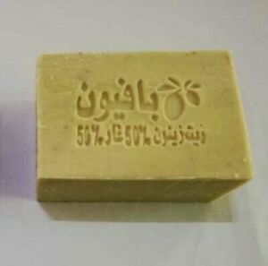 Aleppo Soaps Handmade ( 50% Olive oil and 50% Laurel Oil)