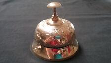 Desk Bell Brass Engraved DING DING Very Interesting Impress Your Friends!!