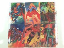Base Card Set: 1994 Skybox D.C Comics Masters Trading Card Set (90)-Superheroes