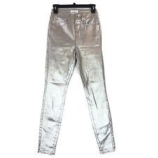 Good American size 2 26 jeans Good Waist metallic High Waist Skinny NWOT
