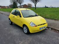 2007 07 Ford KA 1.3 Style Climate Very low mileage 1 owner FSH spares or repairs