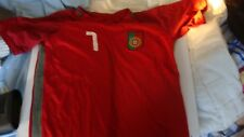 T SHIRT MAILLOT PORTUGAL  RONALDO  TAILLE M