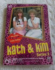 KATH AND KIM – SERIES 2 – DVD, 2-DISC , R-4, LIKE NEW, FREE POST IN ASUTRALIA