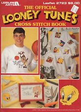 Official Looney Tunes Cross Stitch Book - LA 2723 - Bugs, Tweety, Taz, Marvin