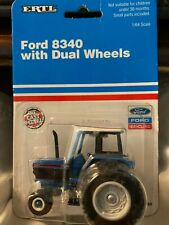 1:64 ERTL DIE CAST FORD 8340 TRACTOR with Duals New 388
