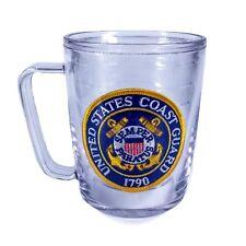 Tervis Tumbler Mug & United States Coast Guard Patch Military