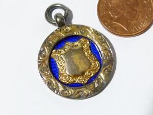 1913 Silver W&DFA Football Association Senior Cup Wakefield Fob Medal #249A*