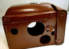 Leather Camera Case for ROLLEI ROLLEIFLEX f2.8 E TLR vintage genuine