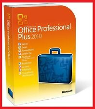 Microsoft Office 2010 Professional Plus, Für 2 PC ✔ MS® Office ✔ PRO VOLLVERSION