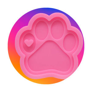 Food Grade Silicone Mould - Paw Print
