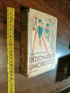LIBRO -Dizionario umoristico Dino Provenzal Editore: Hoepli 1957
