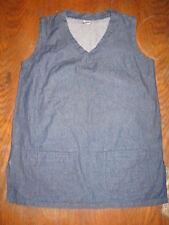 Ti Bamboo - Tunique sans manches en jean brut - 100% coton - 40