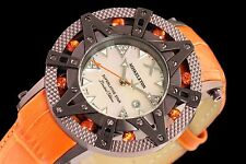 New Ladies Xoskeleton Superlative Star Swiss Quartz Rustic Orange Unique Watch