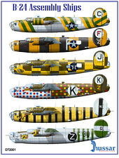 B-24 Assembly Ships 1/72 scale 72001 Hussar Productions decals