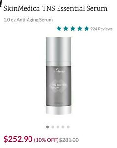 SkinMedica TNS Essential Serum - 1oz New $281