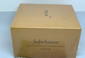 SULWHASOO CONCENTRATED GINSENG RENEWING CREAM EX 2oz/60ml SEALED BOX NEW READ