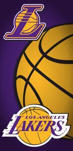 Los Angeles Lakers NBA Beach Bath Towel Basketball