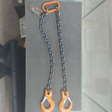 Cm 2 Leg Chain Slings With Hooks 3600lb