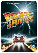 Back to the Future Trilogy (4 Discs) [DVD] Michael J. Fox, Christopher Lloyd