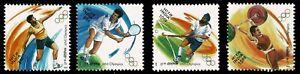 INDIA 2000 Sydney Olympics Tennis Discus Hockey Weightlifting sports set MUH