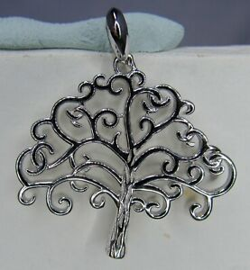 STERLING SILVER NEW TREE OF LIFE PENDANT .................. S 1