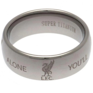 Liverpool FC Super Titanium Ring Small