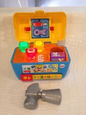 FISHER PRICE LAUGH & LEARN SMART STAGES TOOL BOX MUSIC & LIGHTS
