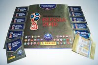 PANINI Russia 2018 World Cup 18 - Album + 12 Tüten Gold Edition empty Schweiz