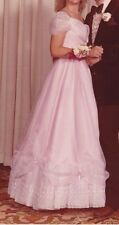 Vintage 1980's  pink Cinderella dress / ball gown size 5, costume or dance dress