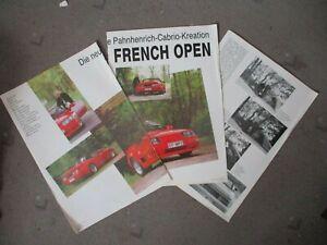 Alpine Post Frühjahr 1989 Magazin Bericht V6 Pahnhenrich Cabrio Umbau