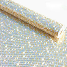 Modern Luxury Gold Foil Mosaic Background Flicker Wall Paper Roll pale gold 5.3㎡