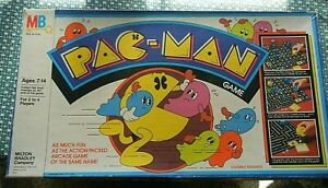 Vintage Pac Man Board Game from 1982