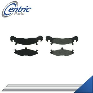 FRONT SEMI-METALLIC BRAKE PADS LEFT & RIGHT SET FOR 1983-1987 PLYMOUTH TURISMO