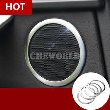 4X Innen Tür Audio Lautsprecher Rahmen Zierleisten Für BMW X3 F25 2011-2017