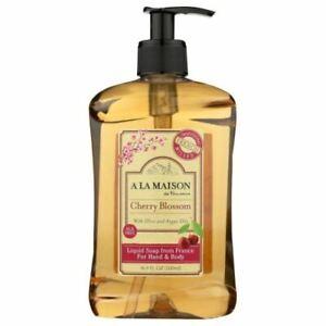 Hand & Body Liquid Soap Cherry Blossom 16.9 Oz