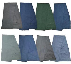 Mens Peaky Blinders Tweed Check Suit Trousers Vintage Slim Fit