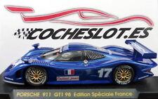 PORSCHE GT1 98 EDICION FRANCIA AZUL Nº 17 REF.E74 FLY