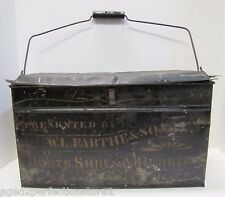 Antiguo andanada & Sons Botas Zapatos Cauchos Shoemakers Caja Alianza Ohio