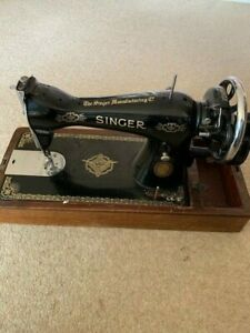 VINTAGE 1954 SINGER SEWING MACHINE IN WORKING ORDER - can collect, deliver, post