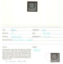 Baden Michelnummer 14 gestempelt (europa:18984)
