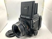 【 Exc+5 】 Mamiya RB67 PRO S + Sekor C 127mm F3.8 Lens + 120 Film Back From JAPAN
