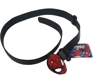 Kids Marvel Spiderman Girls Boys Belt Face Metal Trouser Buckle 4-12 Years