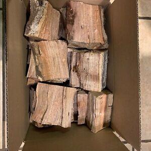 Premium Seasoned Kiln-Dried Mesquite Wood Chunks 20lb