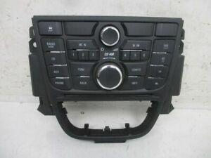 Radio Control Panel Vauxhall Astra SPORTS Tourer (J) 1.7 CDTI 13346050