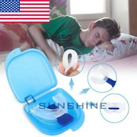 STOP SNORING! Mouth Guard Aid Mouthpiece Sleep Apnea Bruxism Anti Snore Grinding